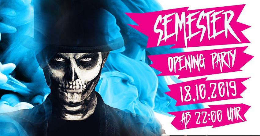 Banner zur Semester-Opening-Party