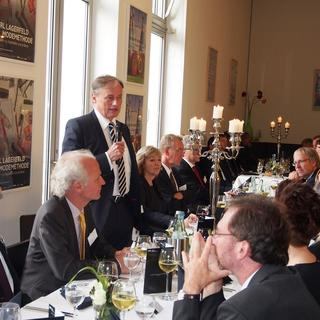 Präsidentendinner im September 2015 in der Bundeskunsthalle in Bonn