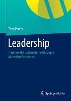 Buchcover Leadership von Theo Peters