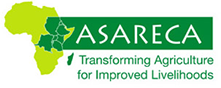 Logo der ASARECA - Association for Strengthening Agricultural Research in Eastern and Central Africa