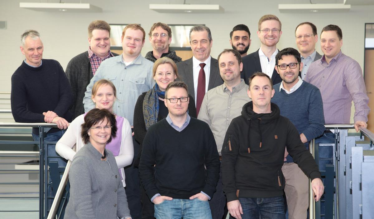 Gruppenfoto Institut für IT-Service (ITS)