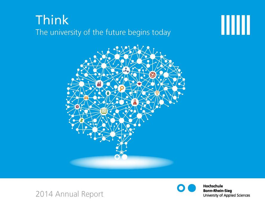 Cover of the 2014 annual report of h-brs