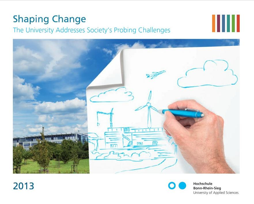 cover of the annual report 2013 of h-brs