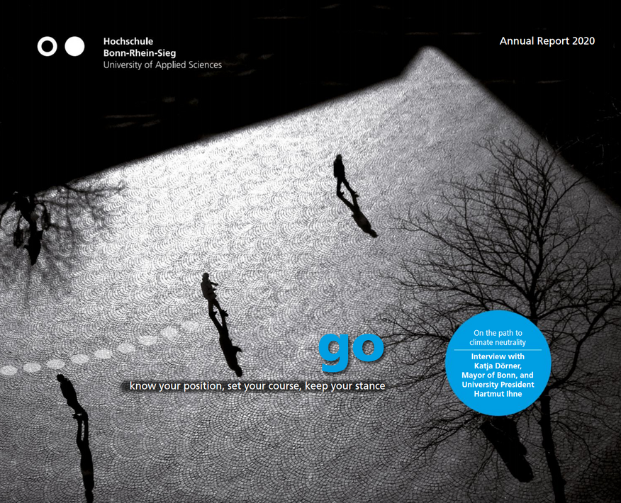 Cover motif of the Annual Report 2020. Image: Bosse and Meinhard
