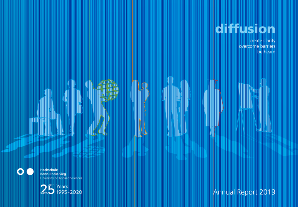 Cover of H-BRS' annual report 2019