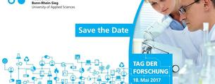 Save the Date Karte vom Tag der Forschung 2017