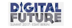 Banner des Digital Future Summit in Berlin 2017