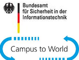 Logo Campus to World CTW Bundesamt für Sicherheit in der Informationstechnik