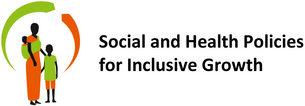 "Logo des Projekts ""Social and Health Policies for Inclusive Growth"""